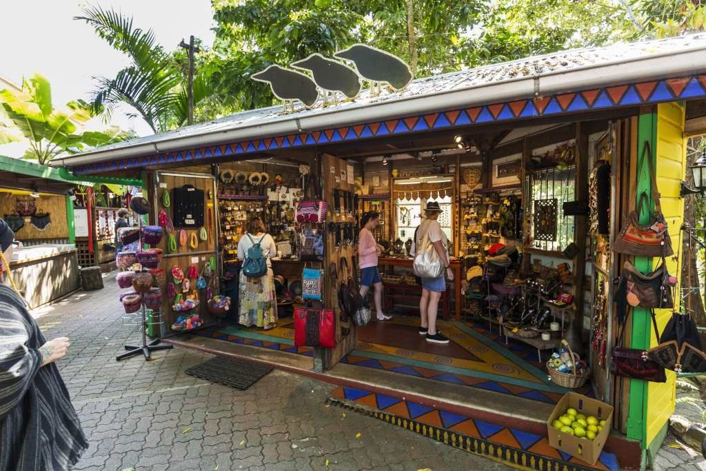 Shopping in Kuranda