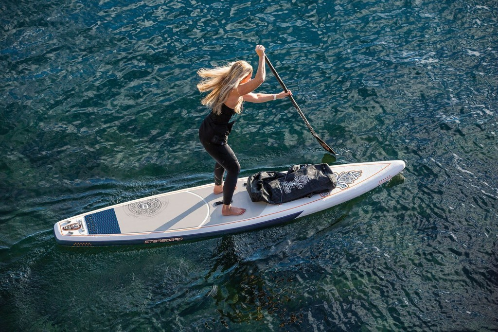 Stand up Paddling ist Top-Training