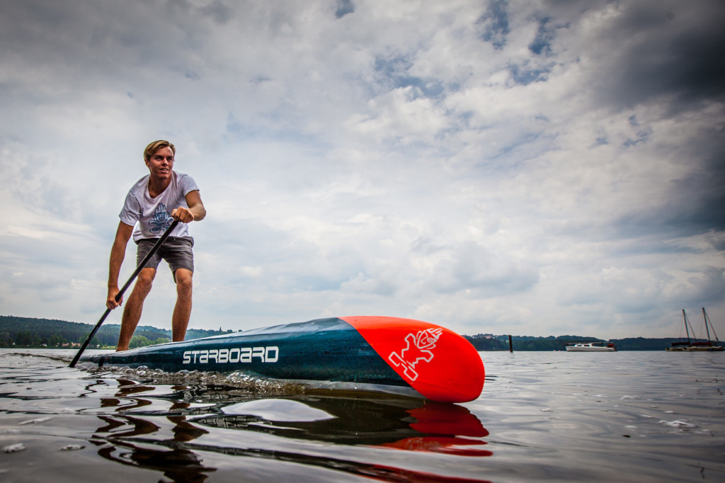 Stand up Paddling Rennen