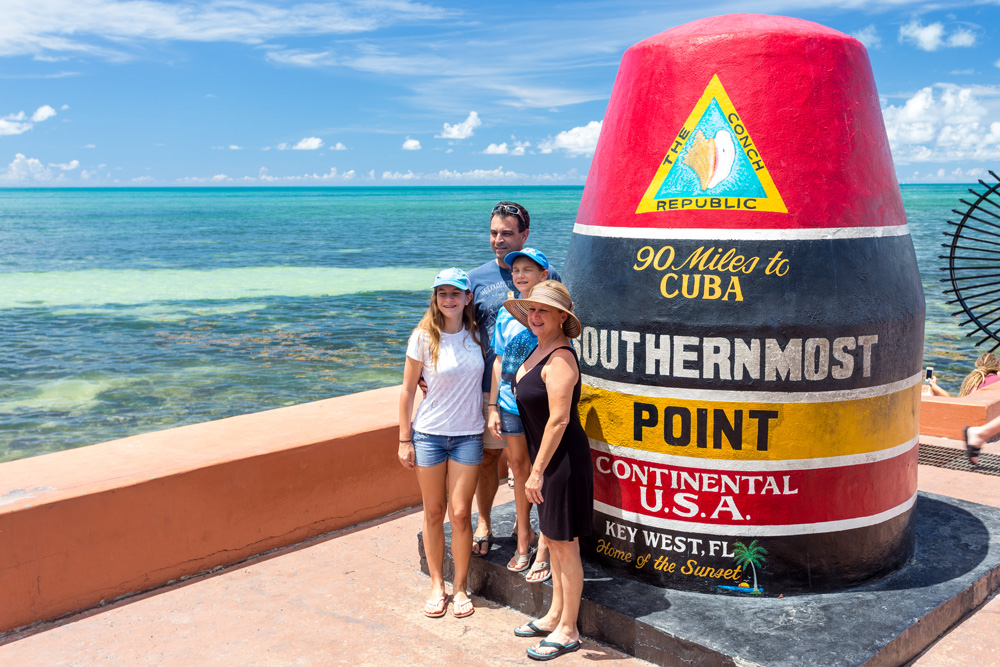 Southernmost Point in Key-West Florida Keys
